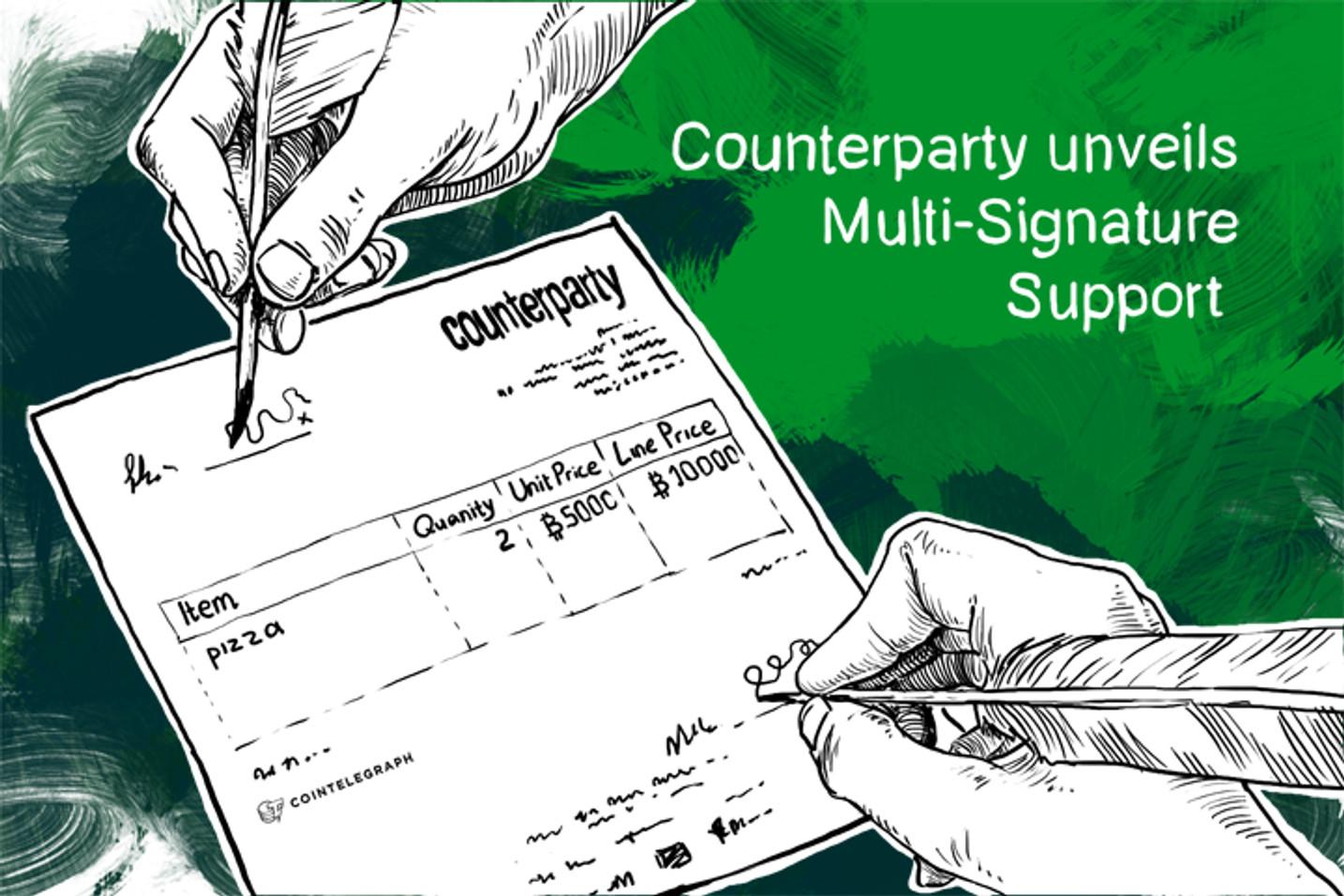 Counterparty unveils Multi-Signature Support