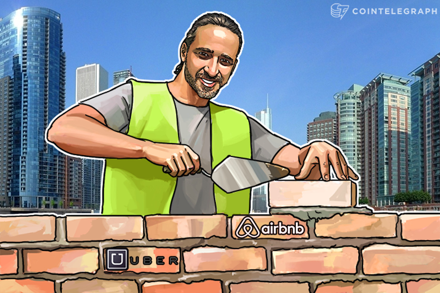 """""""Internet of People"""": How Blockchain Could Improve Uber, Airbnb and Other Services"""