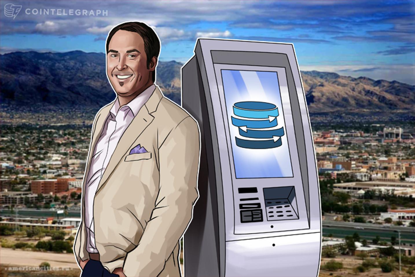 O Bitcoin Ganha em Popularidade no Arizona Enquanto a Rede Americana de Caixas Eletrônicos Bitcoin Cresce