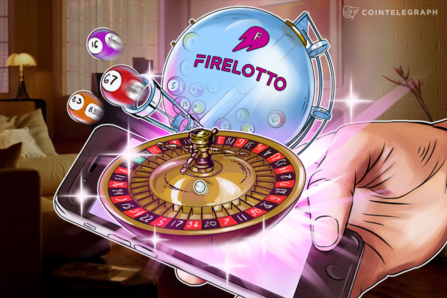 Is Blockchain-Based Lottery to Intervene the Online Gambling Market?
