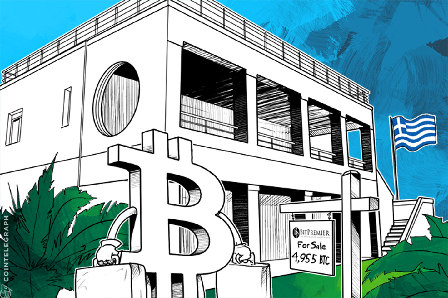 Greek Homeowner Seeks to Convert Real Estate Wealth to 4,955 BTC