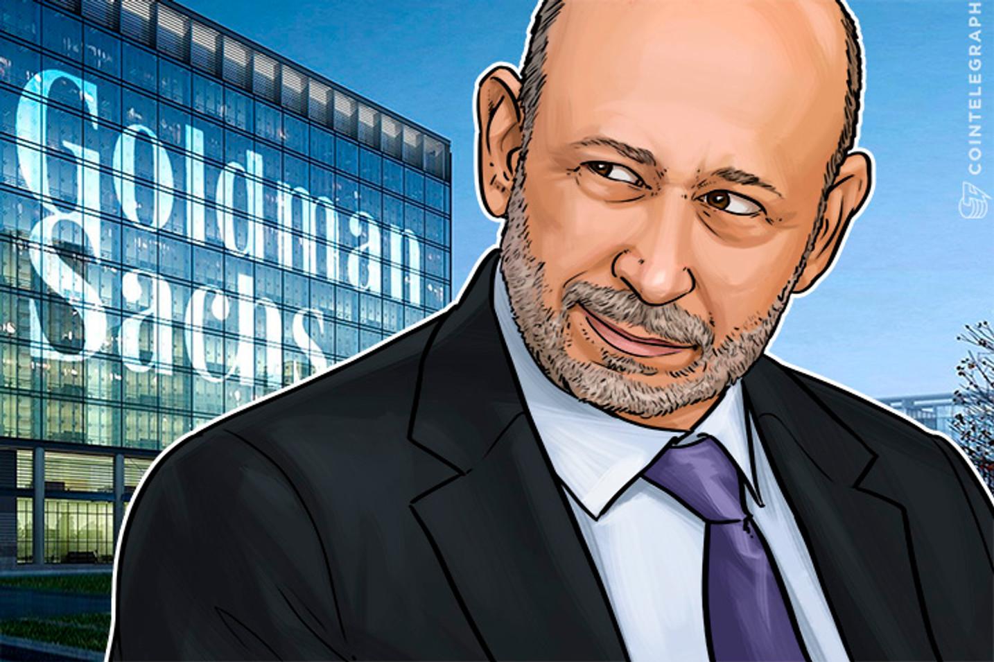A Goldman Sachs não está iniciando uma casa de câmbio digital, mas eles investiram em uma