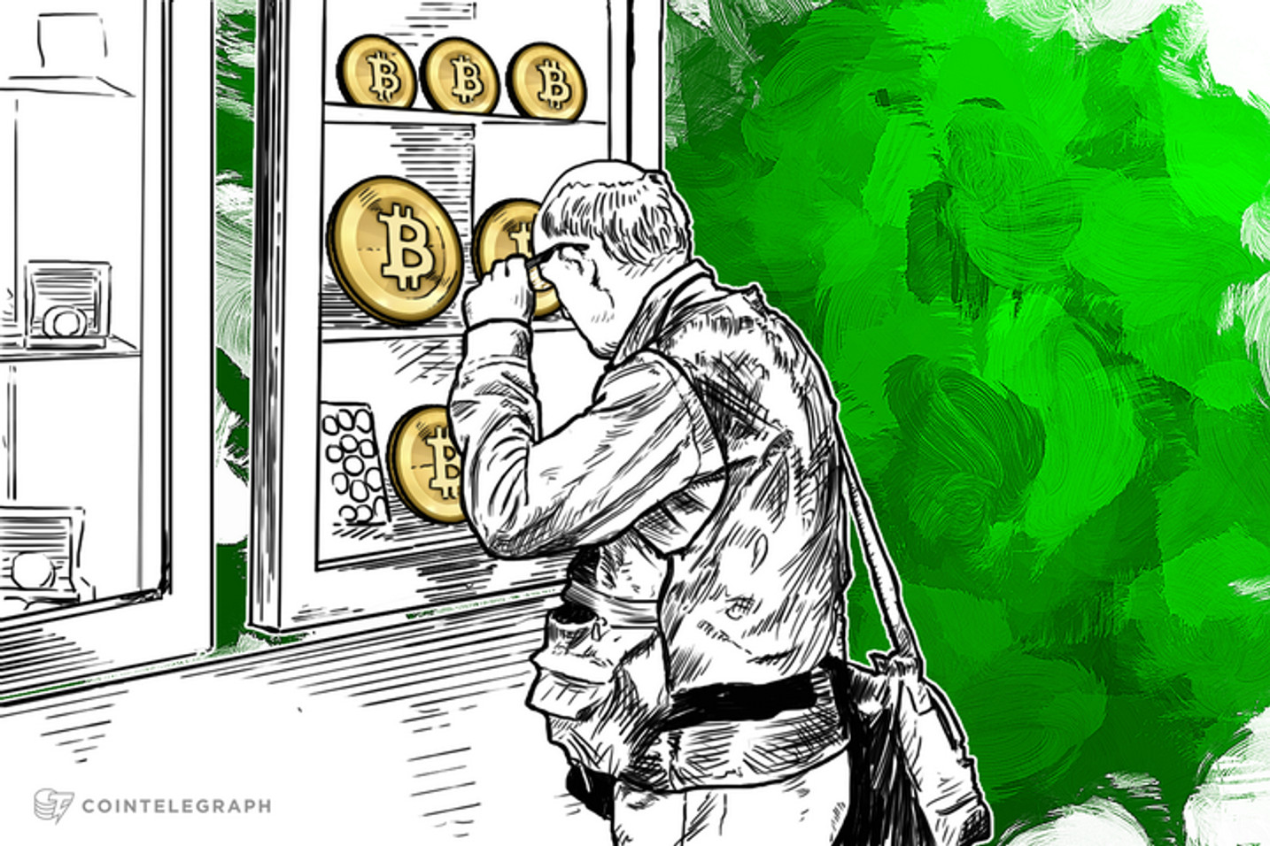 Wall of Coins: Buy Bitcoin Safely at Your Local Bank