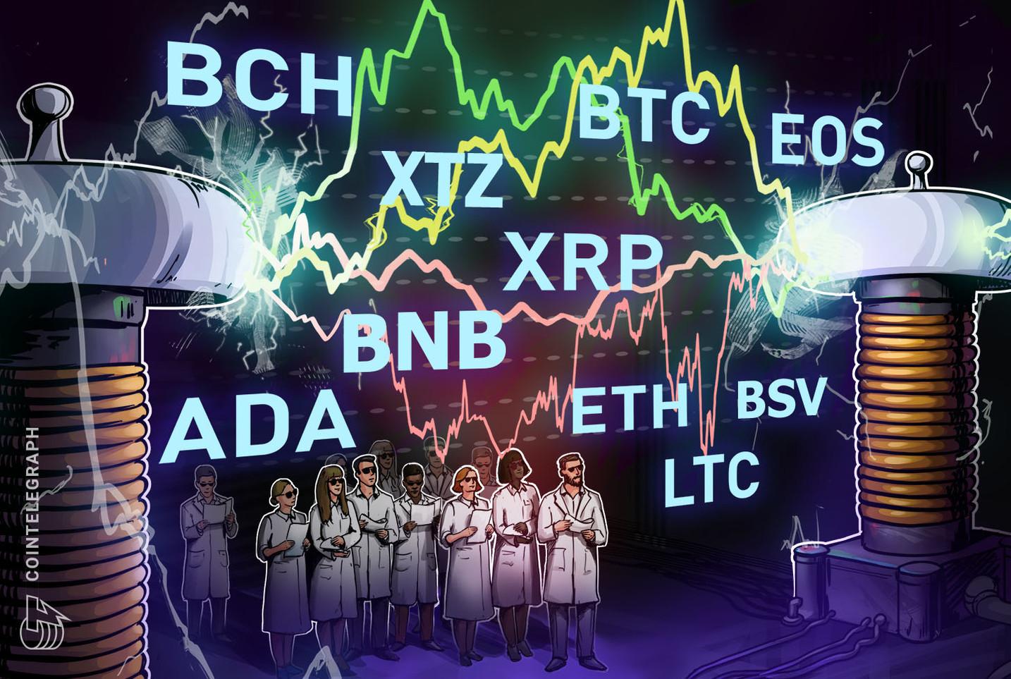 Análisis de precios del 10 de junio: BTC, ETH, XRP, BCH, BSV, LTC, BNB, EOS, ADA, XTZ