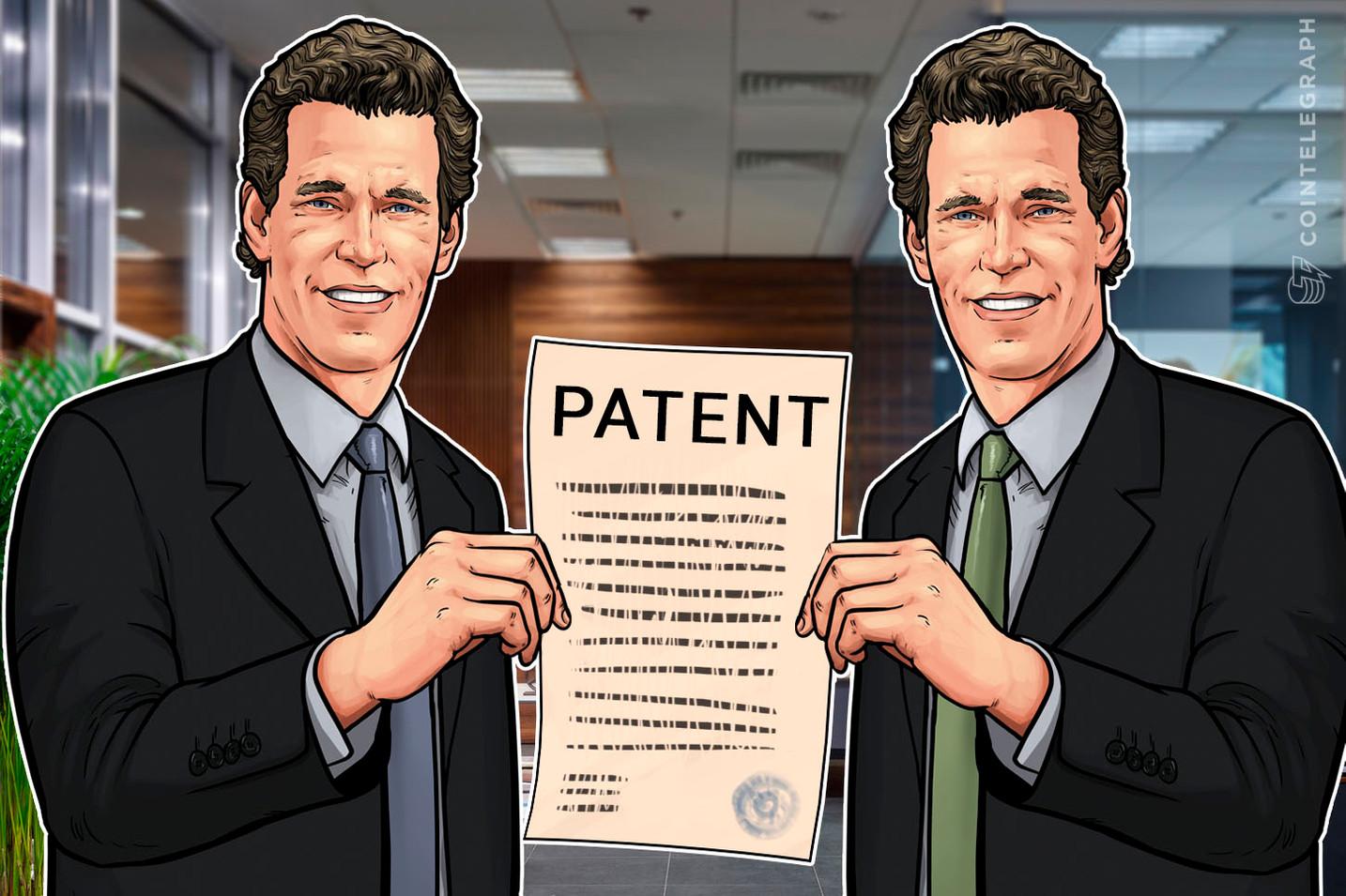 Los hermanos Winklevoss reciben una patente para el sistema de seguridad de transacciones digitales