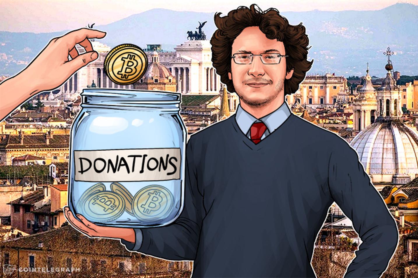 Italian Startup Creates Bitcoin Platform for Transparent Natural Disaster Donations