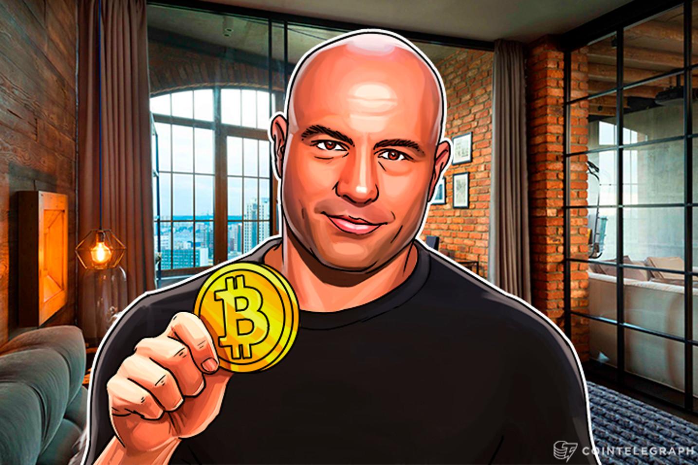 """""""No soy exactamente un escéptico, pero no invierto en Bitcoin"""", dice Joe Rogan en una nueva controvertida declaración"""