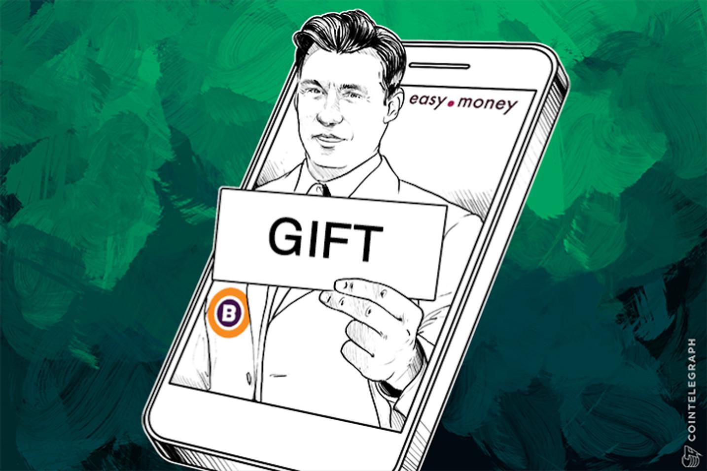 Gift Voucher App Easy.Money Launches on Bitreserve API