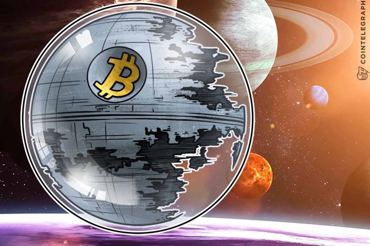 Džozef Lubin veruje da su bitkoin mehuri pozitivna stvar