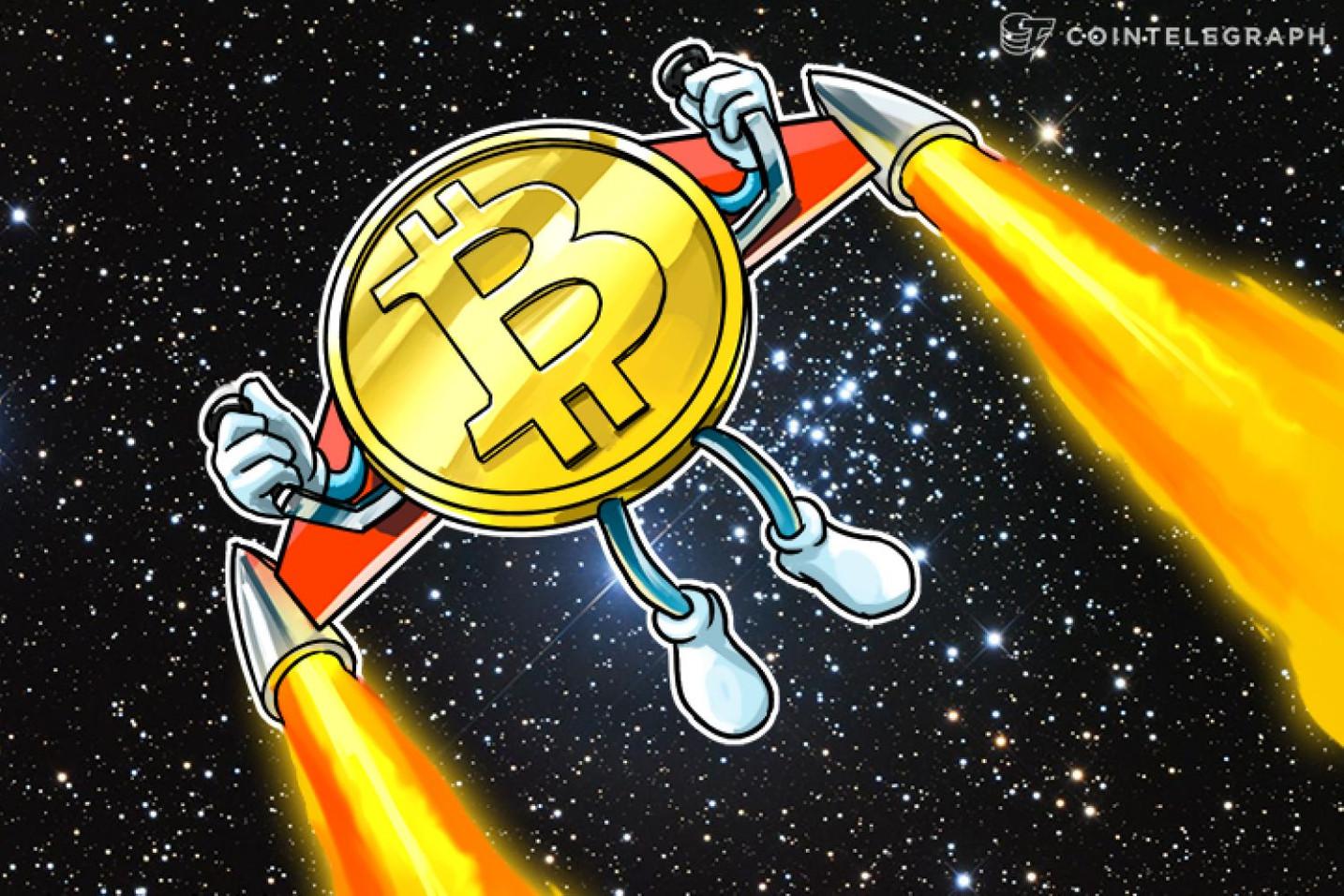 El precio de Bitcoin podría subir hasta 9.000 dólares antes de un colapso masivo y aquí está el porqué
