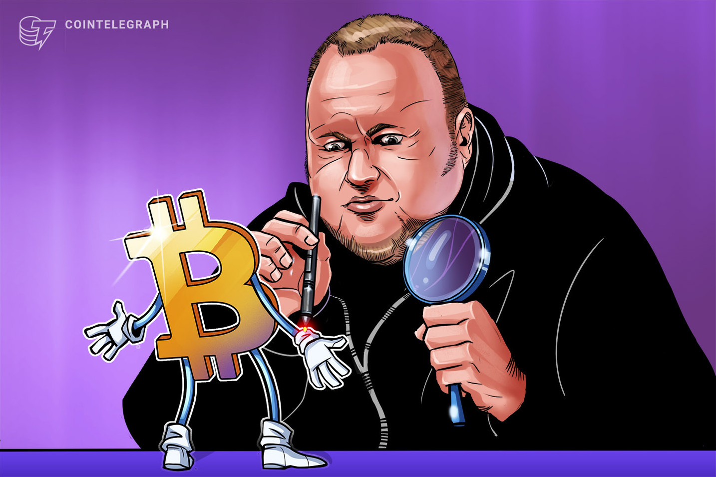Kim Dotcom Predicted Bitcoin's Rise Two Years Ago