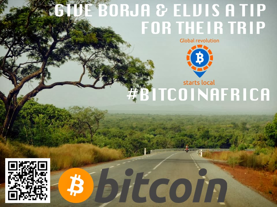 With #BitcoinAfrica trip