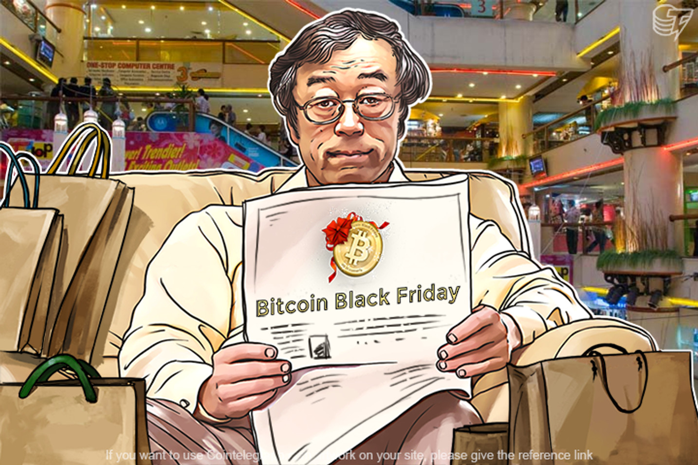 Bitcoin Black Friday Is Back!