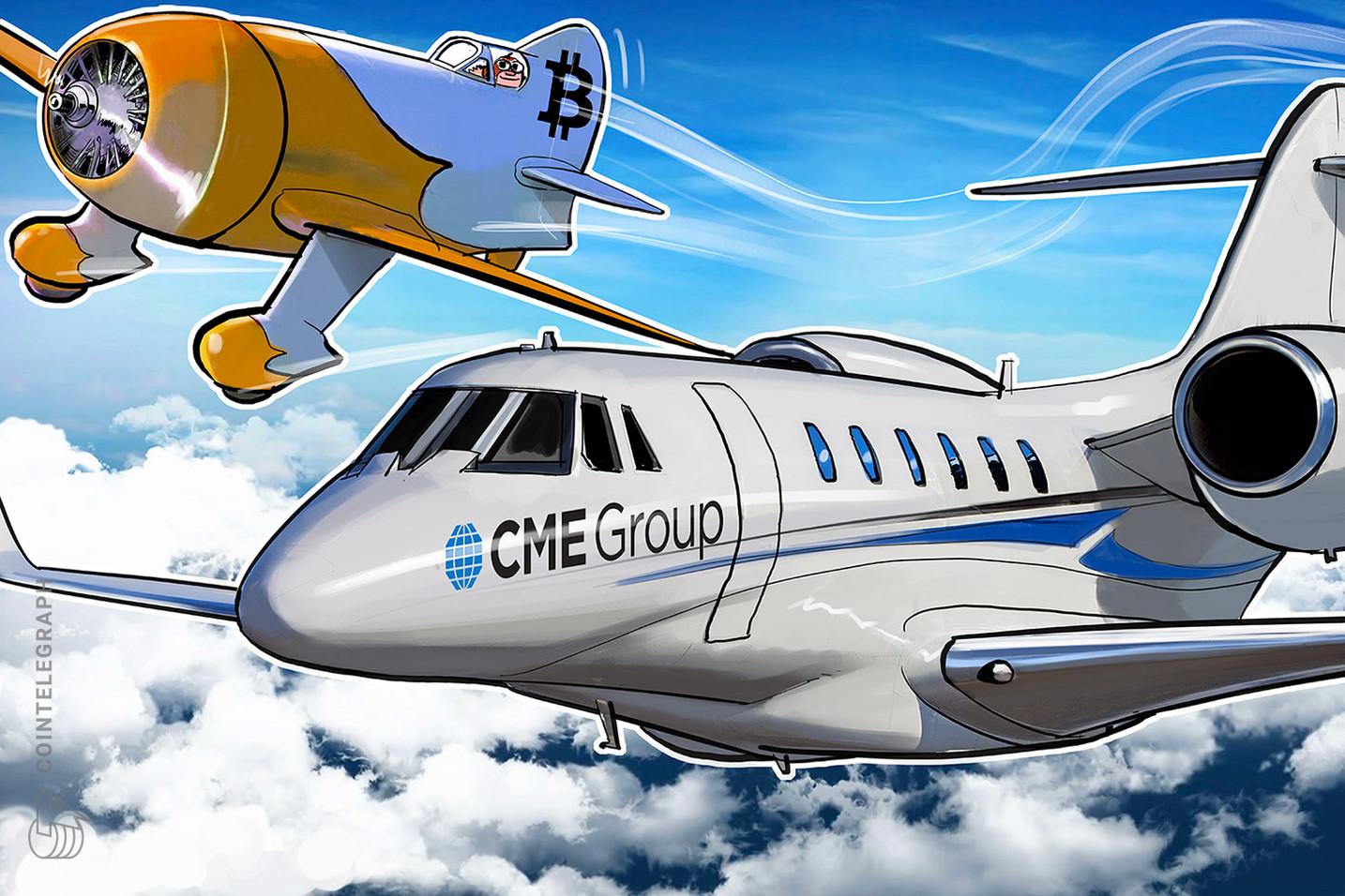Los futuros de bitcoin de CME promediaron un volumen diario de USD 515 millones en mayo