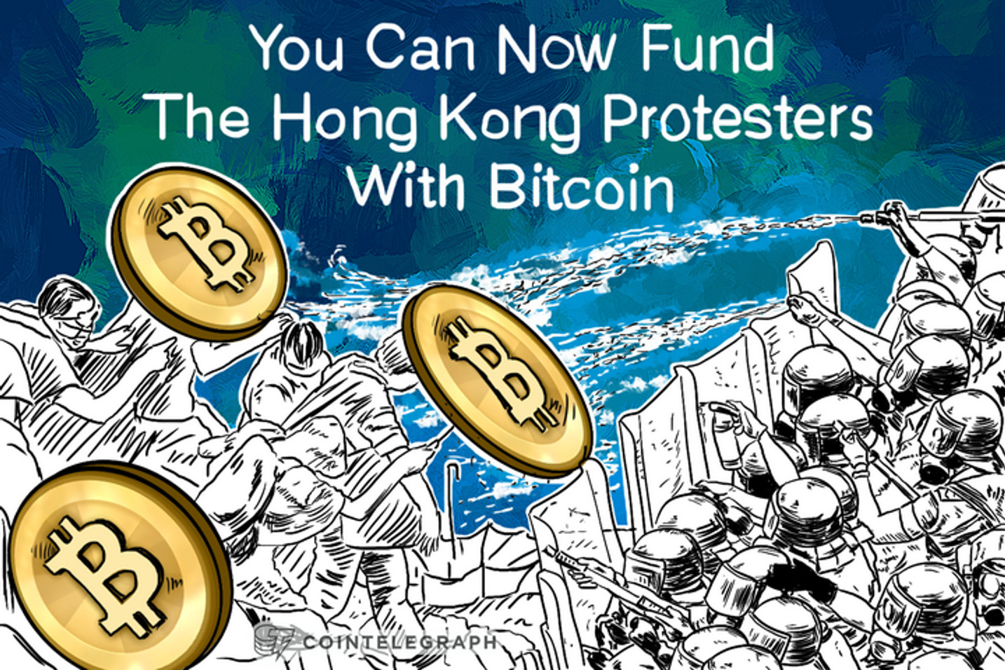 You Can Now Fund The Hong Kong Protesters With Bitcoin