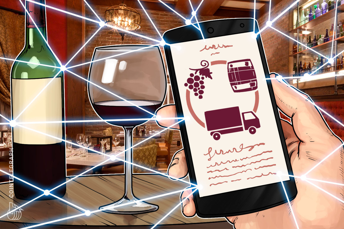 La auditora Ernst & Young proporciona una solución blockchain para una nueva plataforma de trazabilidad del vino