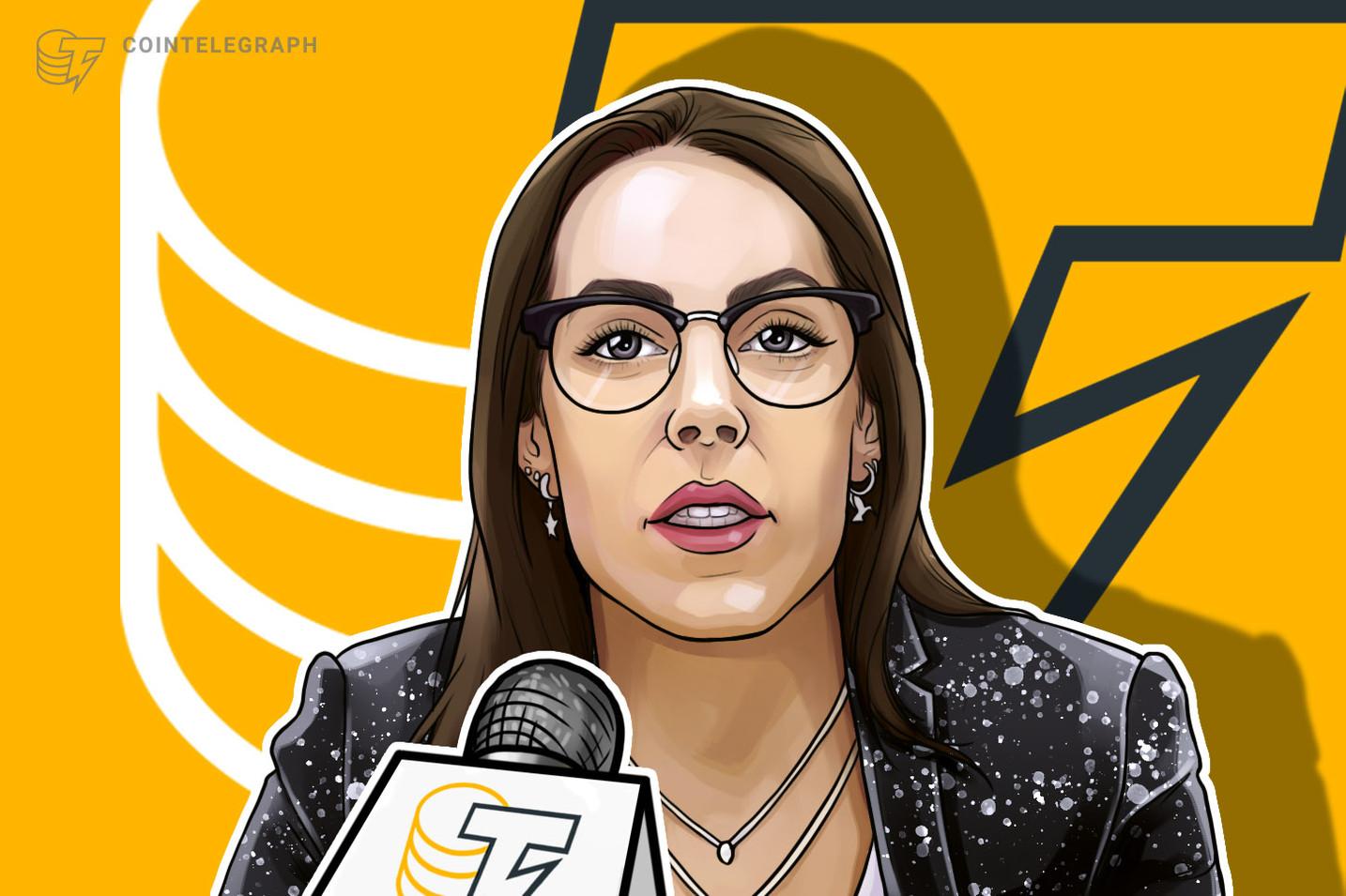 """Cristina Carrascosa: """"como abogado y fiscalista, sé que la desestatalización del dinero es imposible"""""""