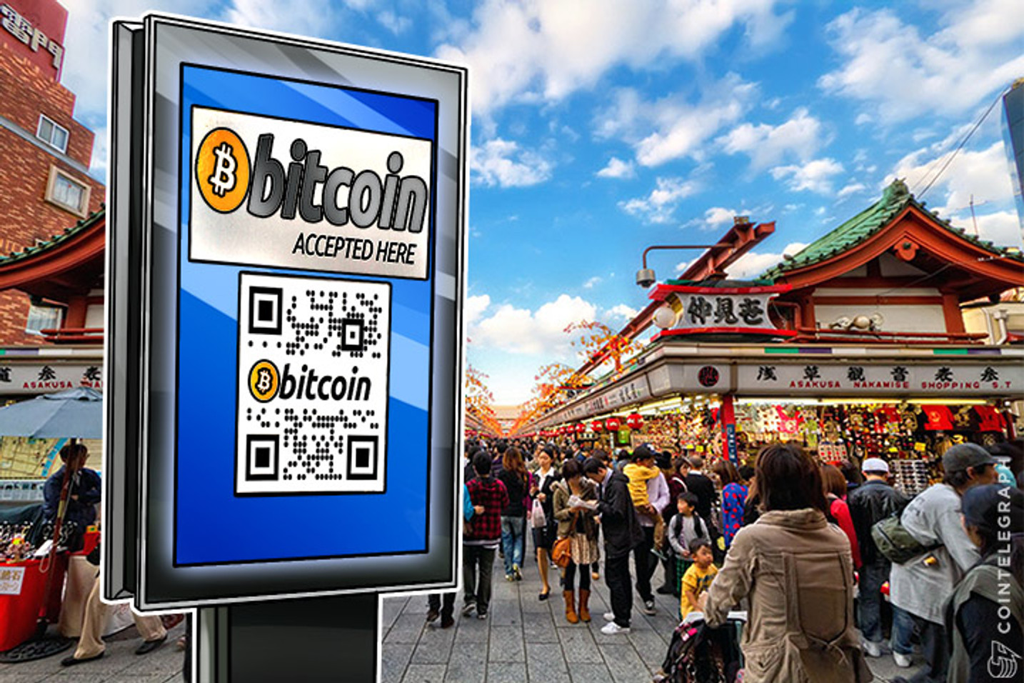 Bitcoin Boom in Japan: Merchant Adoption Grows Four-Fold in One Year