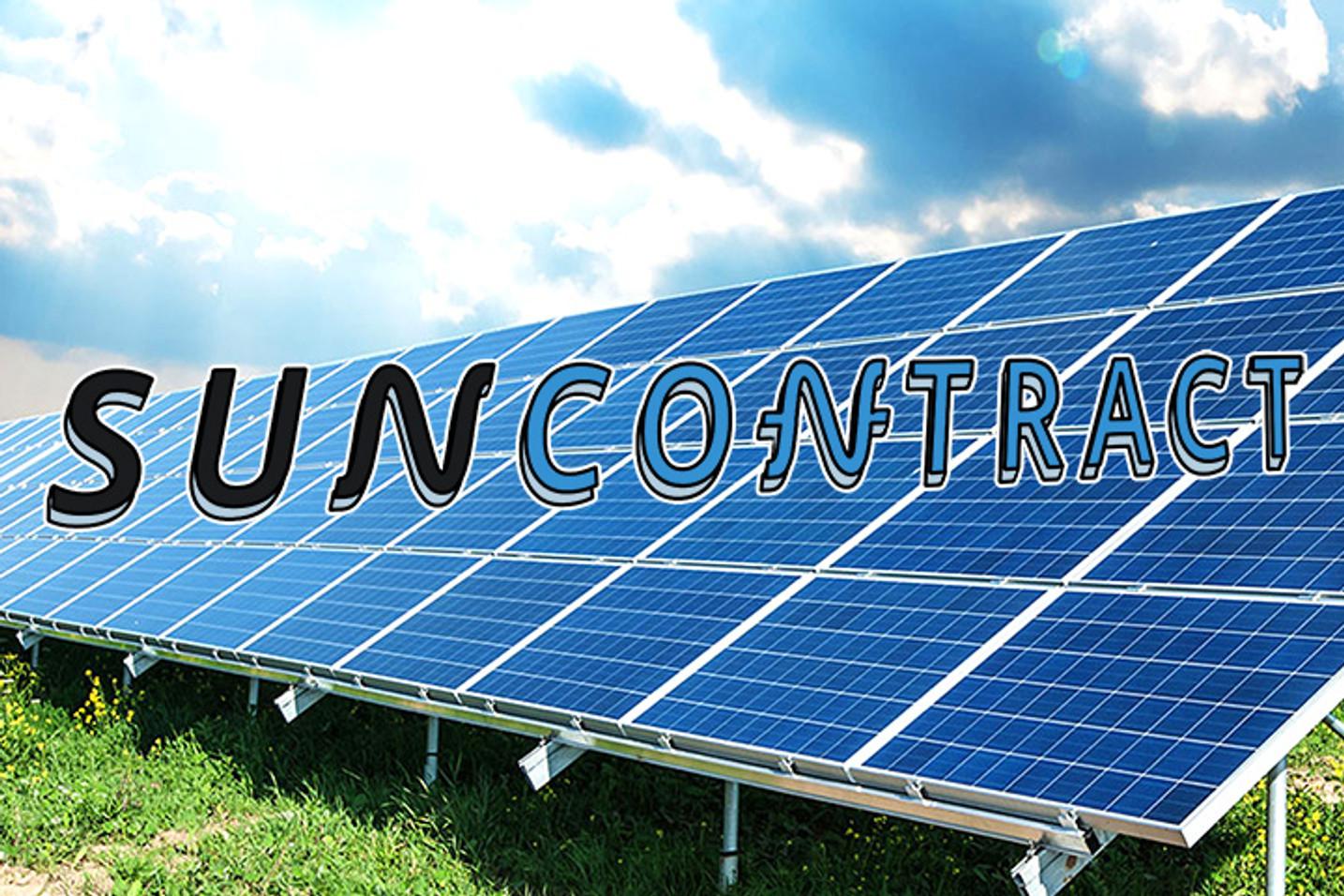 SunContract Announces Tokensale (ICO) For June 28th