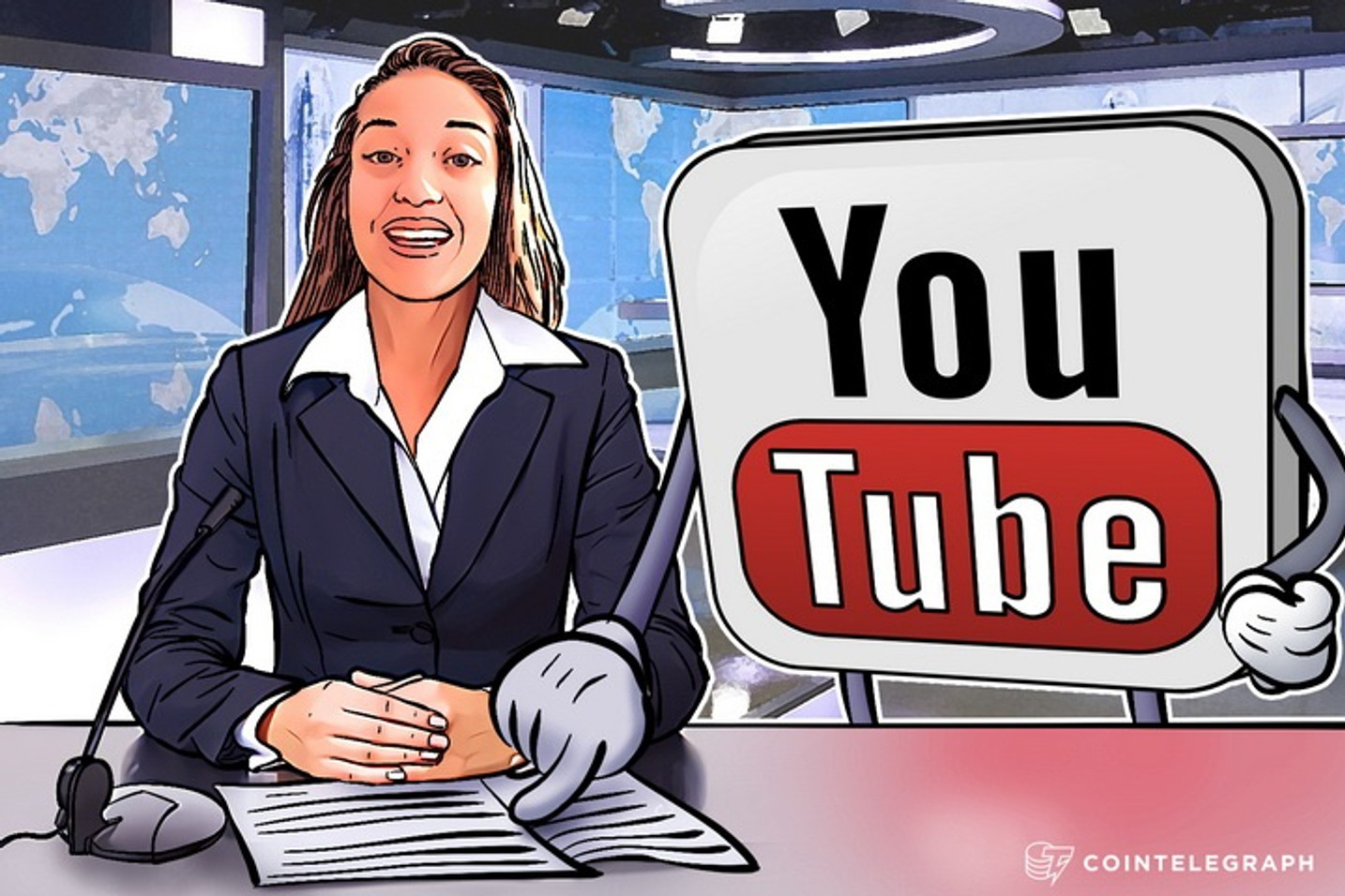 YouTube Threatens Blogger Over Tough Questions To The European Commission President