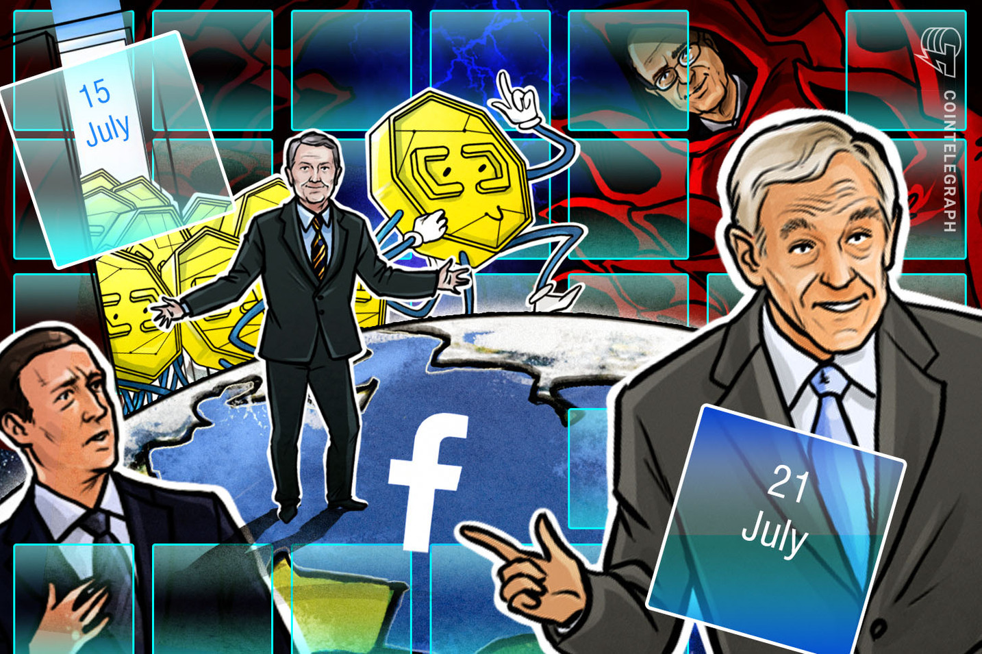 Hodler's Digest, July 15–21: Libra Special! Top Stories, Price Movements, Quotes and FUDs of the Week