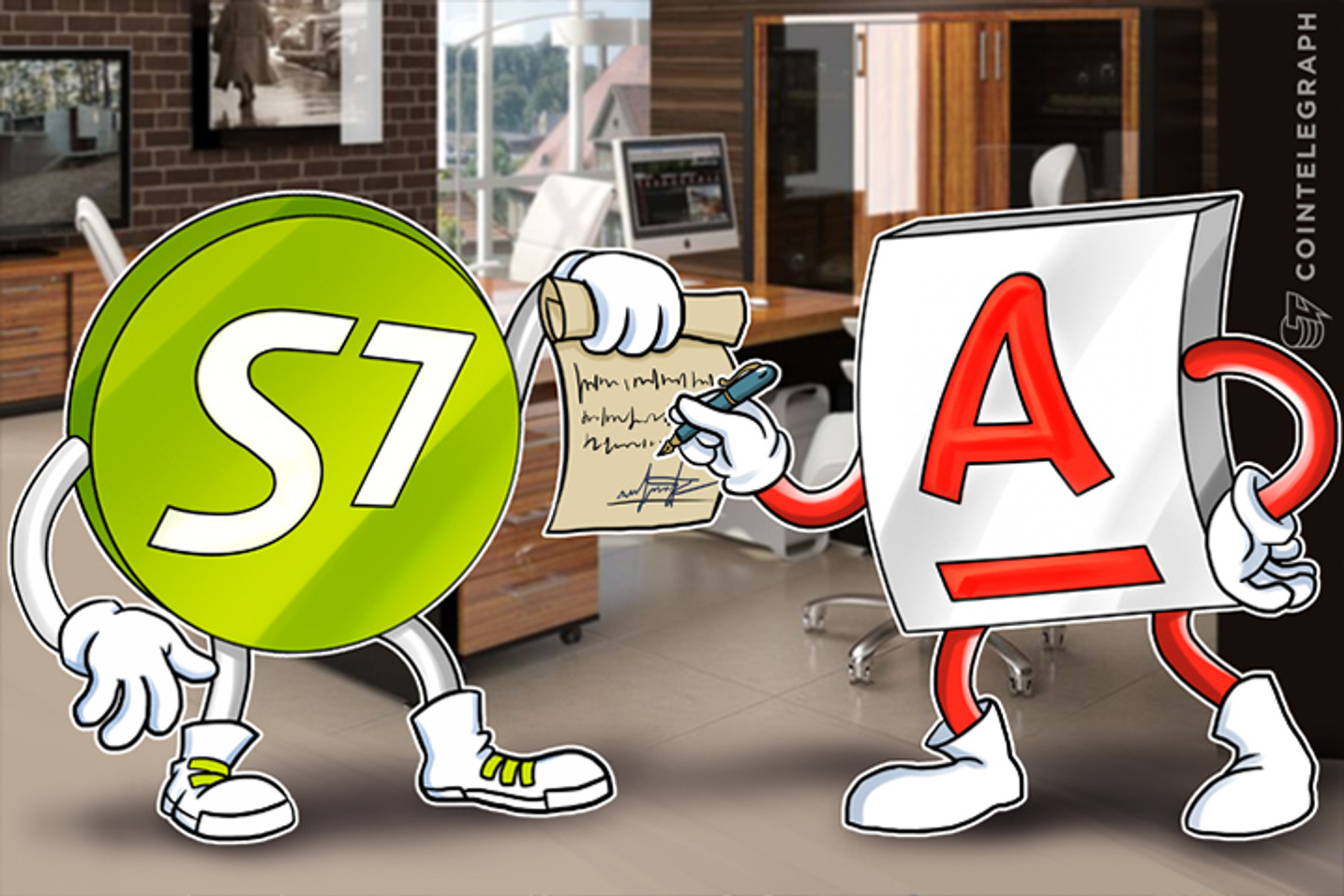 S7 Airlines and Alfa Bank Test Blockchain for B2B Payment in Russia