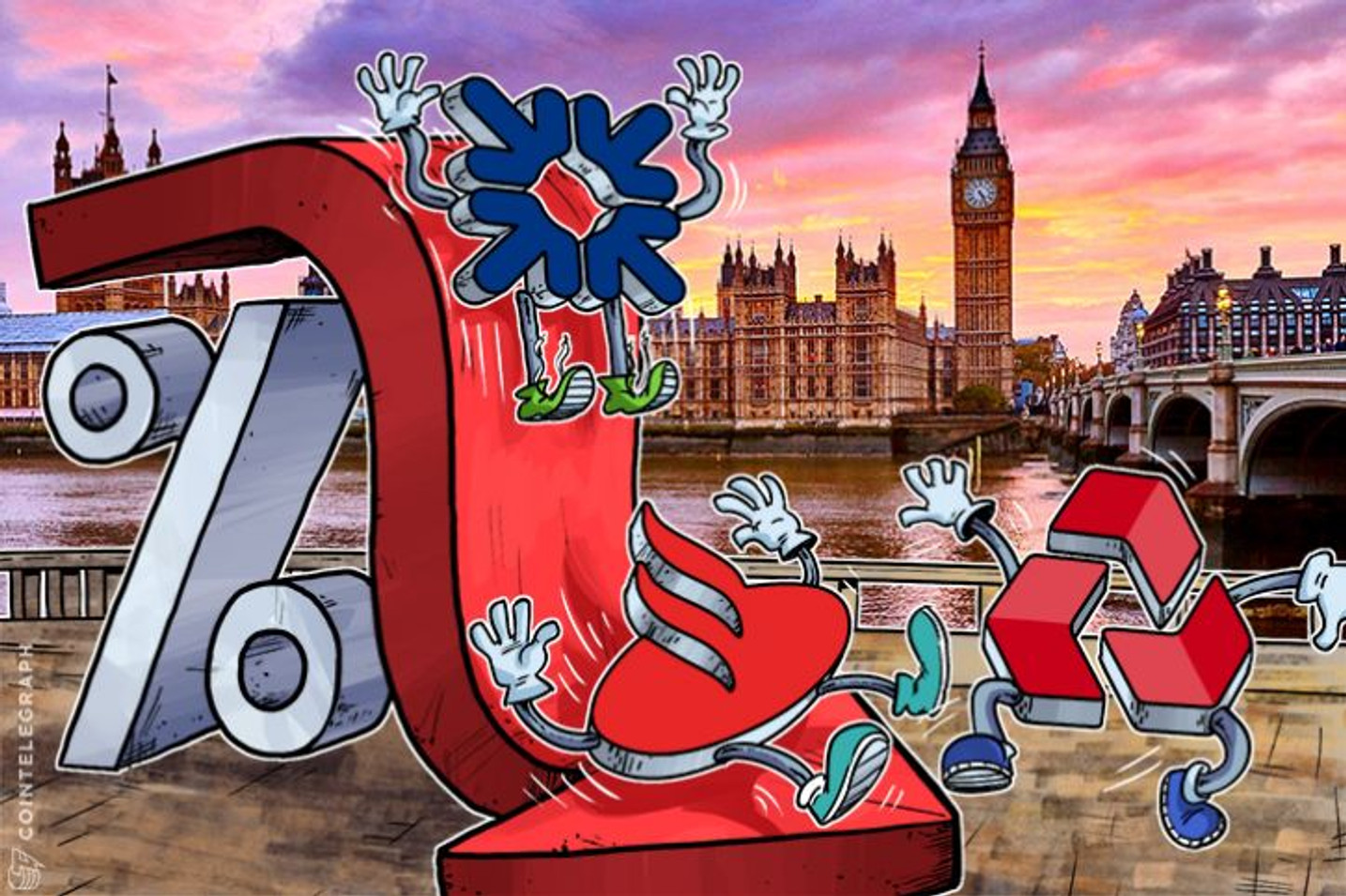 Najveće britanske banke će uvesti negativne kamatne stope