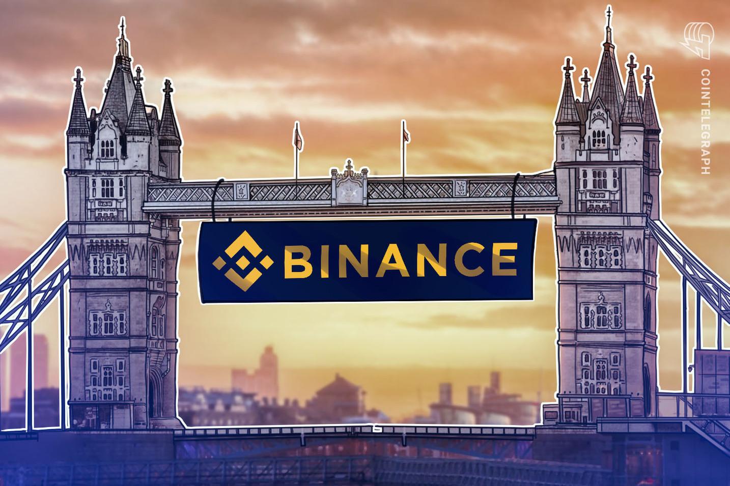 Binance plant britische Handelsplattform für institutionelle und Privatanleger
