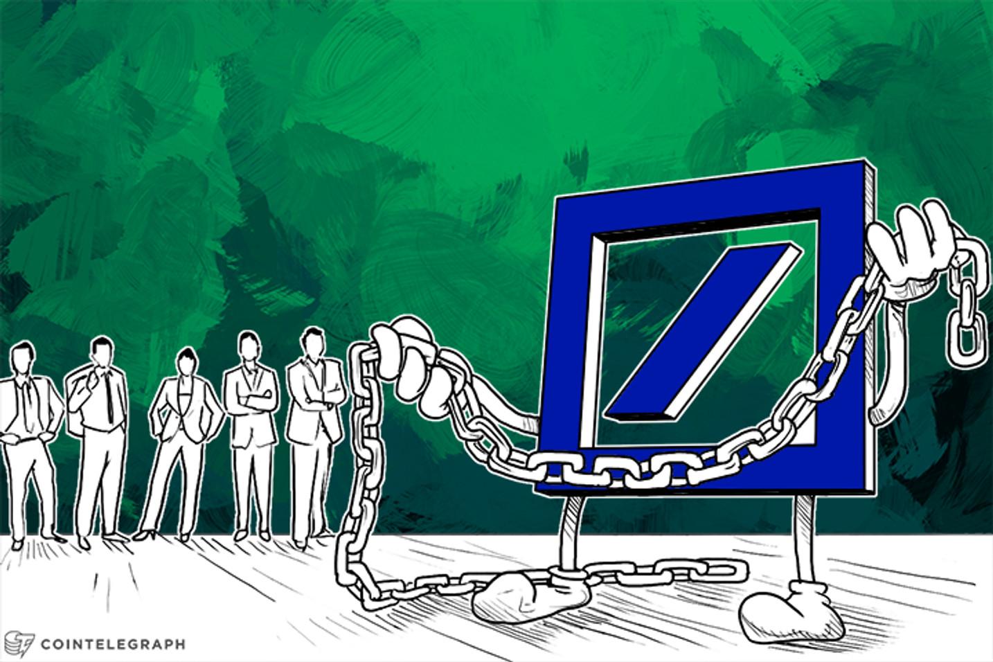 Deutsche Bank: The Blockchain is a 'Truly Disruptive Idea'