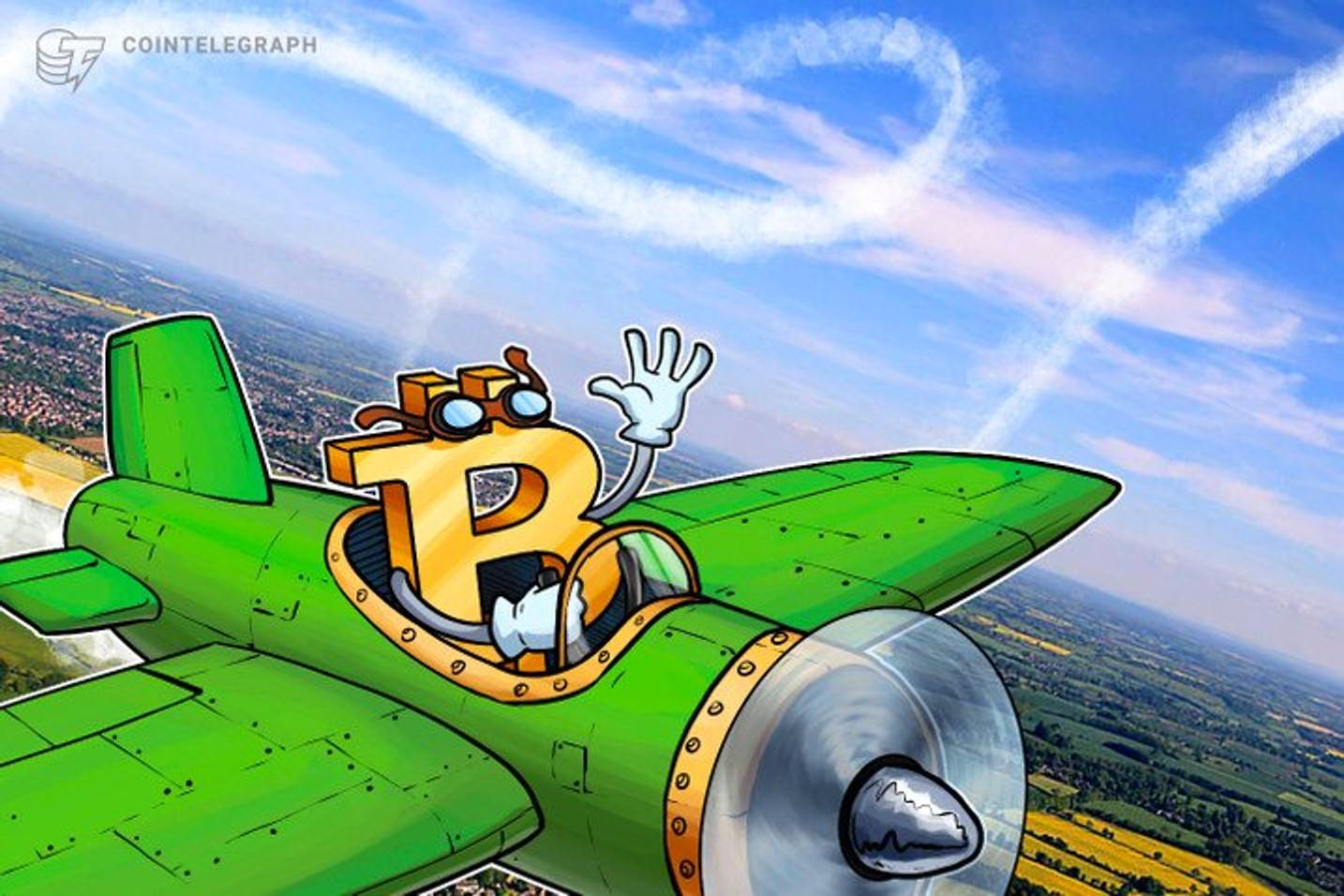 Em seu maior rali desde setembro de 2019, Bitcoin recupera preço de 12 de março