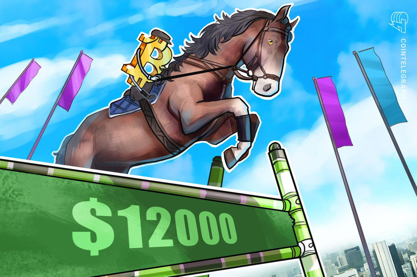 Bitcoin Price Reclaims $12k as Dominance Highest Since April 2017