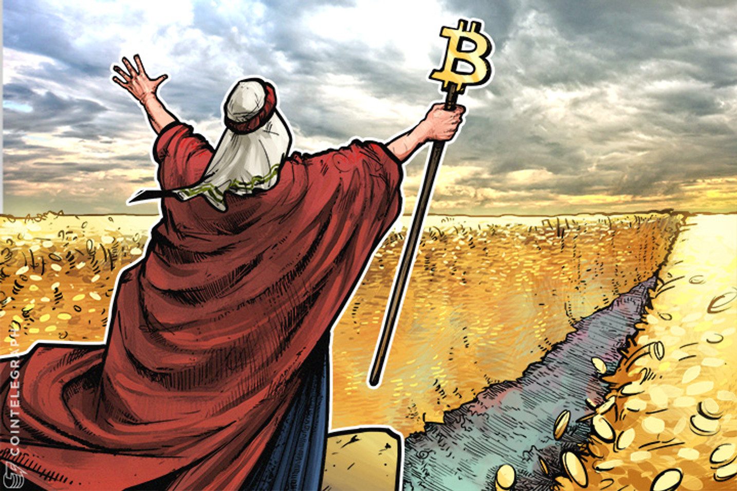 Keiser - Bitcoin like 'Moses' for Gold