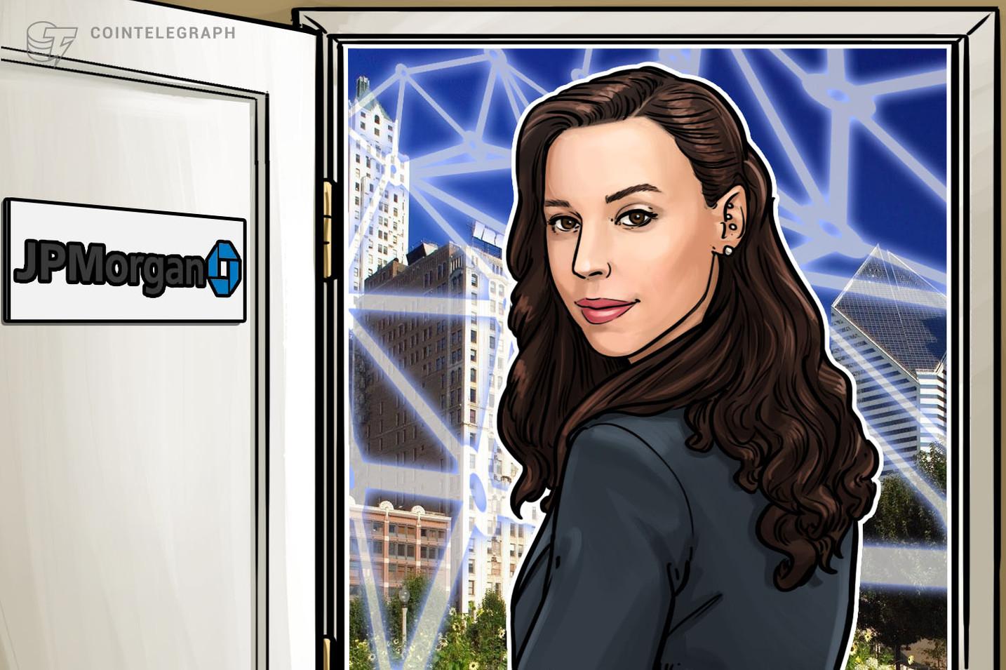 Exlíder del brazo Blockchain de JPMorgan, Amber Baldet, se embarcará en una nueva empresa