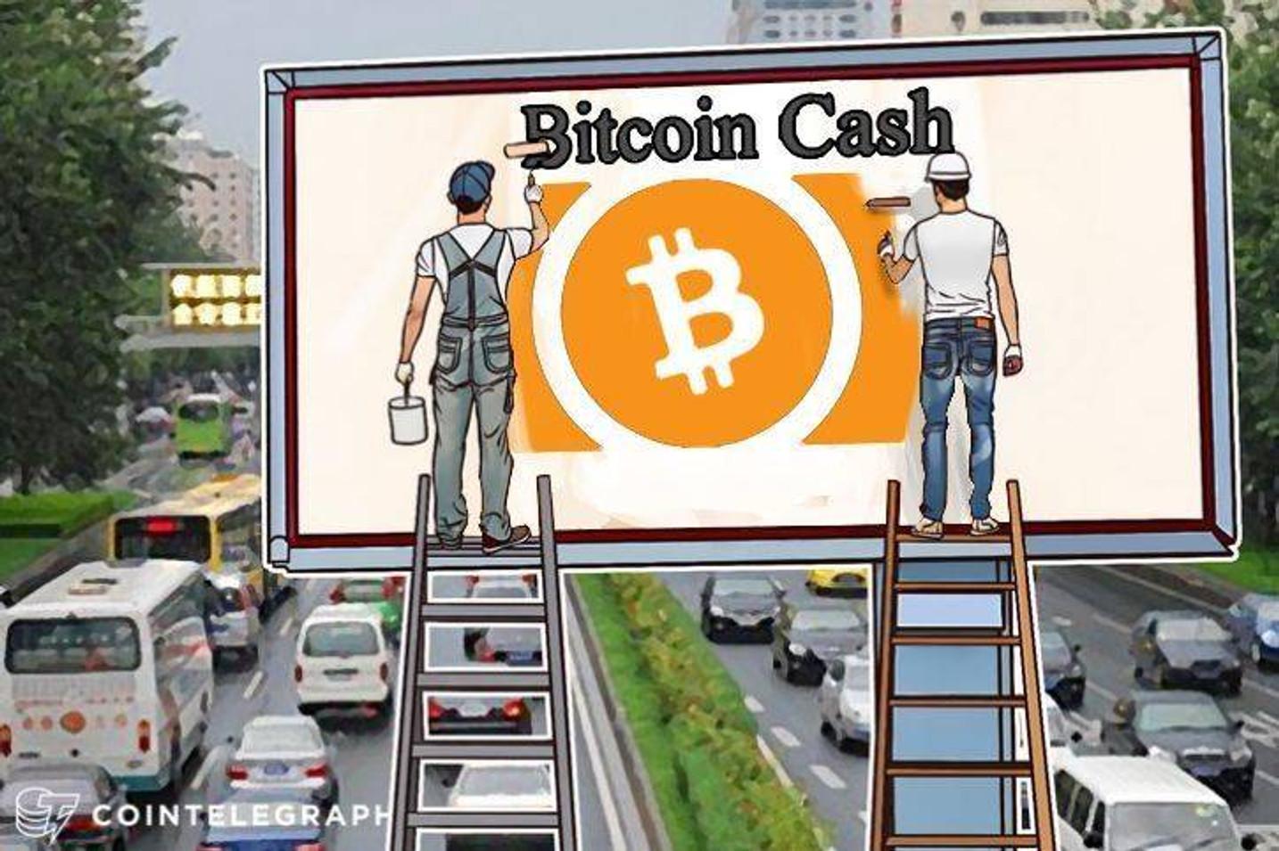 Antes de la bifurcación de Bitcoin Cash, las visiones competidoras de la moneda compiten por la tasa de hash