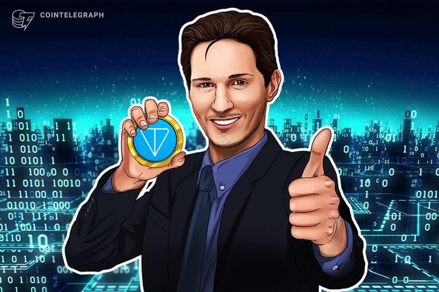 Analista da Monfex diz que criptomoeda do app de mensagens Telegram poderia arrecadar US$4 bilhões até 2022