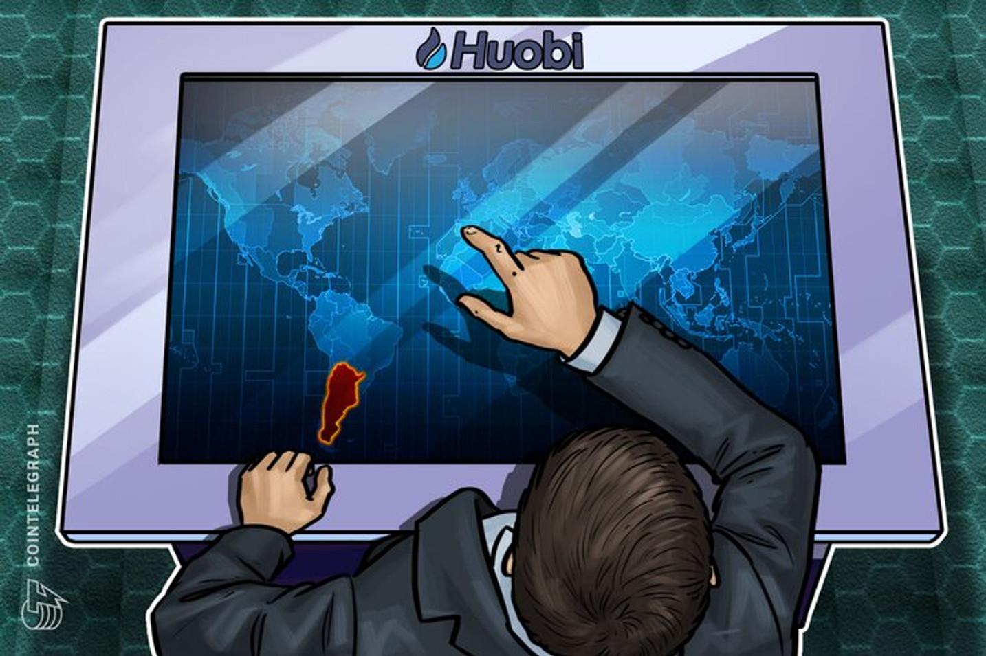 Lanzaron oficialmente la plataforma HuobiAr para comprar y vender criptomonedas en Argentina