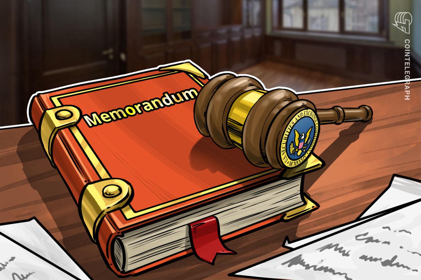 SEC Publishes Memorandum From Meeting on SolidX, VanEck BTC ETF Proposal