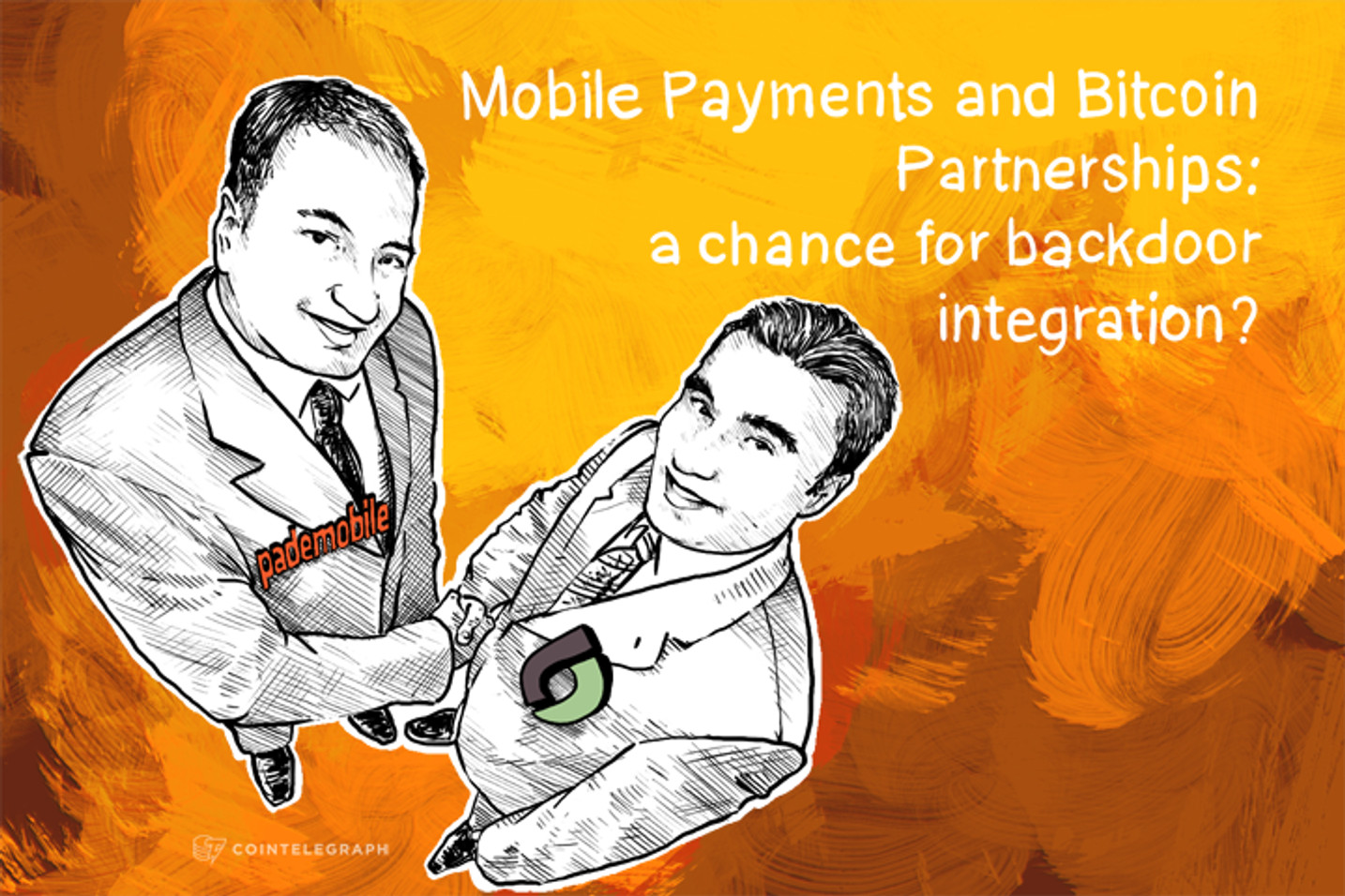 Mobile Payments and Bitcoin Partnerships: a chance for backdoor integration?