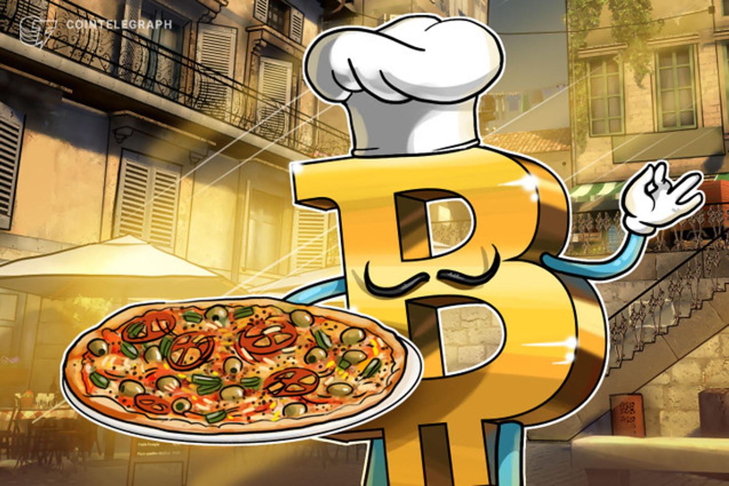 Comprare una pizza con BTC? A Napoli è ora possibile!