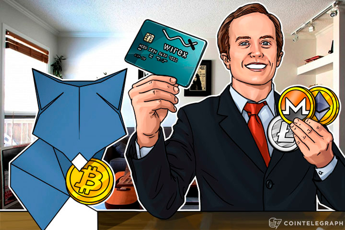 Wirex Debit Card Integrates ShapeShift; ETH, Monero, Litecoin Enabled