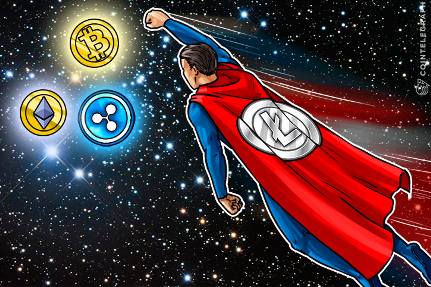 Litecoin, Silver to Bitcoin's Gold, Now Aims at $50 Goal