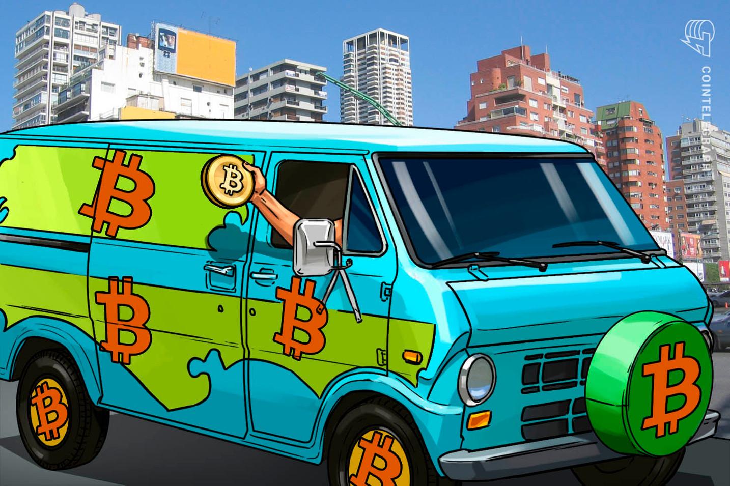 """""""Bitcoin-Batmobil"""": Argentinische NGOs auf Krypto-Aufklärungs-Tour im Minivan"""