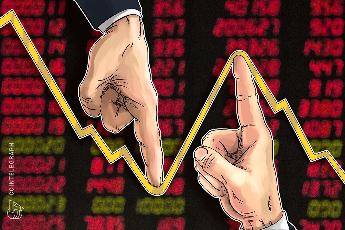 35 mln di dollari rimossi dal mercato, BTC testa i 10.000$ per poi fare marcia indietro