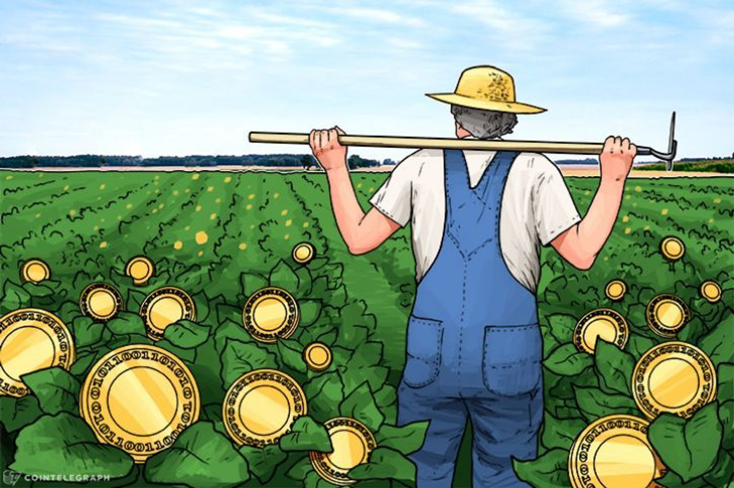 'Cryptomatoes' Grows 5 Acres Of Fruit From Bitcoin Mining Heat