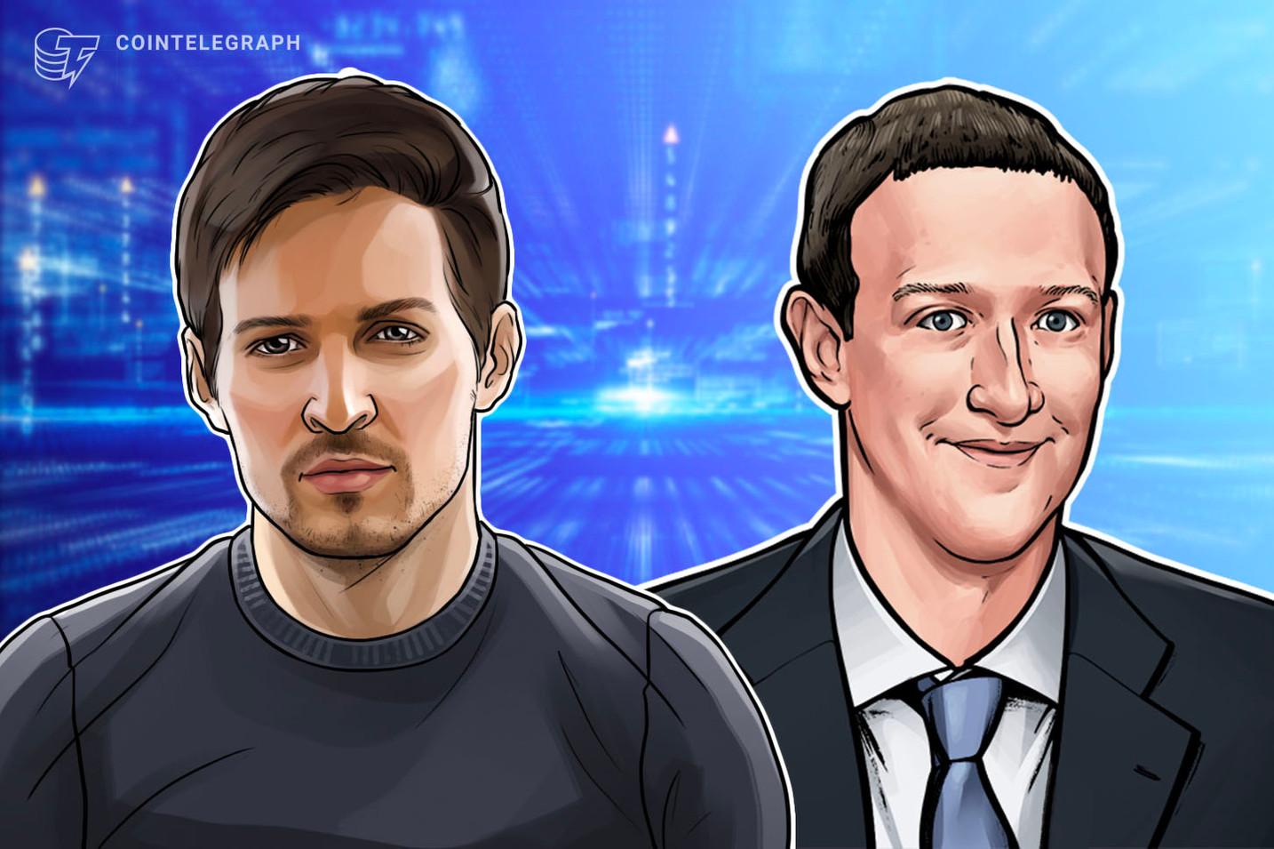 La postura de Mark Zuckerberg y Pavel Durov como defensores contra las invasiones tecnológicas extranjeras