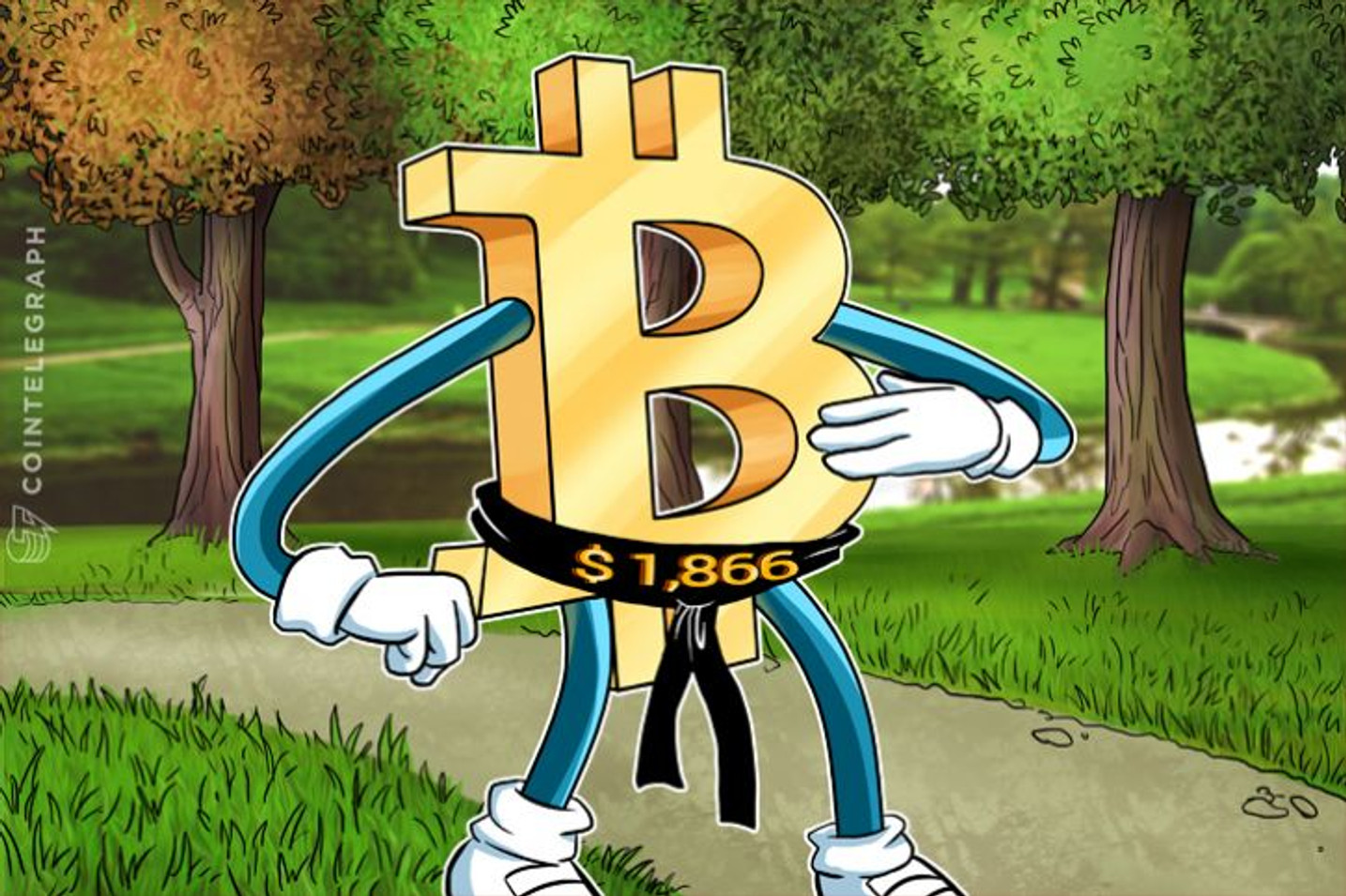 ビットコイン価格が再び史上最高値を更新し1,866ドルへ―その主な成長要因とは