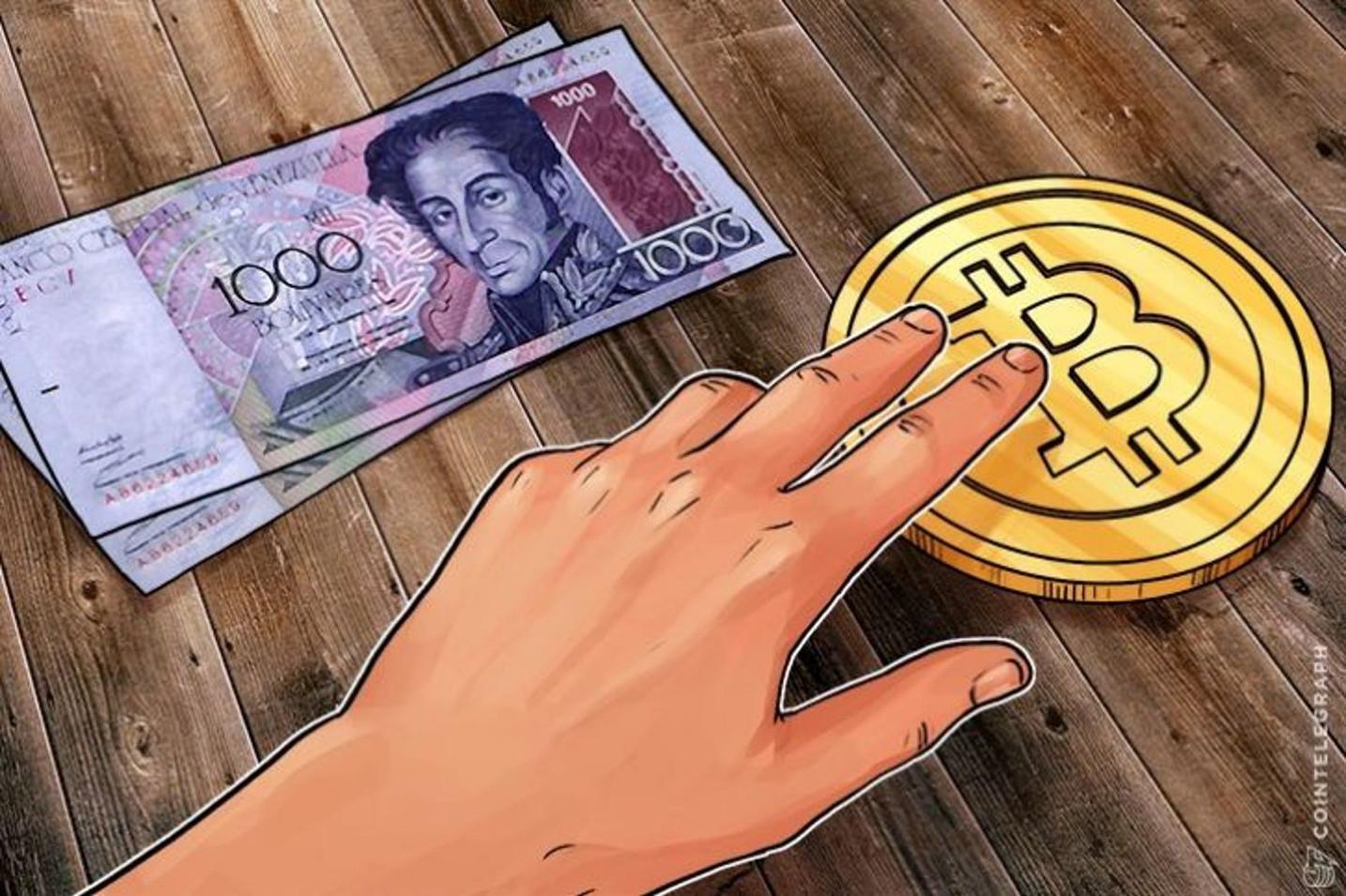 El precio del Bitcoin en Venezuela se dispara un 16 por ciento en 48 horas