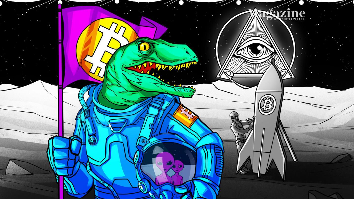 I rettiliani hanno inventato Bitcoin: le crypto sono un focolaio per le teorie complottiste