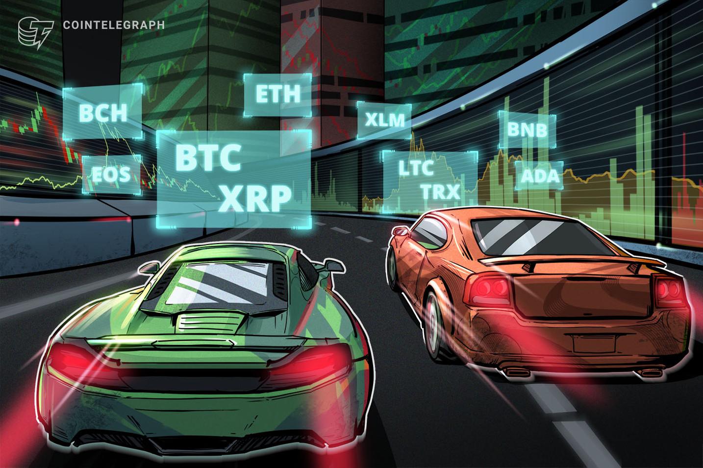 Bitcoin, Ethereum, Ripple, Litecoin, EOS, Bitcoin Cash, Binance Coin, Stellar, Cardano, TRON: Analisi dei prezzi, 3 aprile