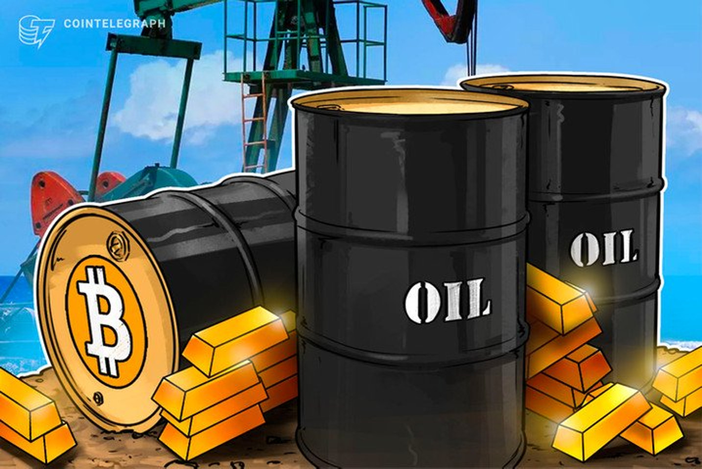 Com queda de 306% nos futuros de petróleo, ouro é destaque e Bitcoin decepciona